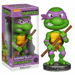 TORTUES NINJA TMNT BOBBLE HEAD DONATELLO 18CM