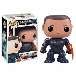 Photo du produit FUNKO POP MASS EFFECT COMMANDER SHEPARD