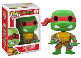 Photo du produit FUNKO TORTUES NINJA RAPHAEL POP