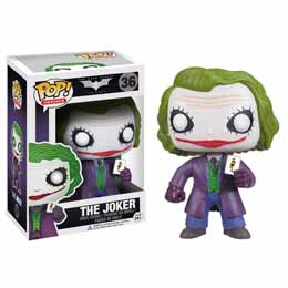 Photo du produit DC HEROES FUNKO POP BATMAN DARK KNIGHT THE JOKER