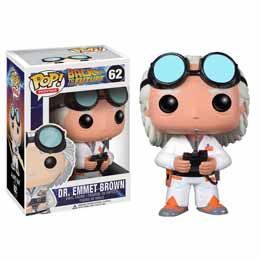 Photo du produit FIGURINE EMMET BROWN FUNKO POP RETOUR VERS LE FUTUR