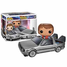 FUNKO POP BACK TO THE FUTURE TIME MACHINE MARTY DELOREAN