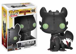 FUNKO POP DRAGONS 2 TOOTHLESS KROKMOU