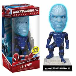 FUNKO AMAZING SPIDERMAN 2 ELECTRO BOBBLE HEAD 18 CM