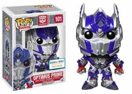 TRANSFORMERS AGE OF EXTINCTION POP OPTIMUS PRIME 9CM METALLIC EXCLUSIF