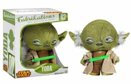 STAR WARS FABRIKATIONS PELUCHE YODA 15CM