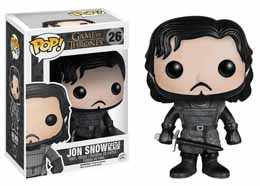 FUNKO POP GAME OF THRONES JON SNOW CASTLE BLACK