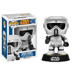 FIGURINE STAR WARS FUNKO POP BIKER SCOUT