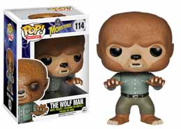 CLASSIC MONSTERS FUNKO POP WOLFMAN
