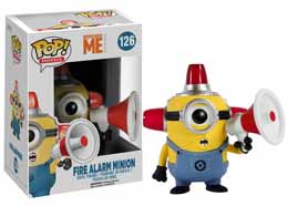 MOI MOCHE ET MÉCHANT 2 POP FIRE ALARM MINION FIGURE 9CM