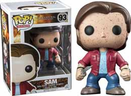 SUPERNATURAL POP SAM BLOOD SPLATTER EXCLU