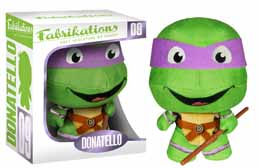 TORTUES NINJA TMNT FABRIKATIONS PELUCHE DONATELLO 15CM