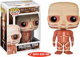 ATTAQUE DES TITANS POP COLOSSAL TITAN 15CM