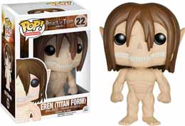 Photo du produit ATTAQUE DES TITANS FUNKO POP EREN YEAGER TITAN FORM