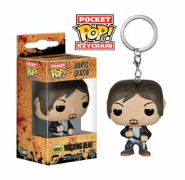 PORTE CLE WALKING DEAD FUNKO POP POCKET DARYL DIXON 4 CM
