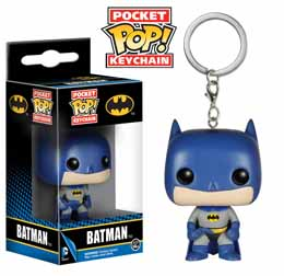 PORTE CLE BATMAN DC HEROS VINYL POCKET POP