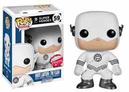 DC HEROES VINYL POP WHITE LANTERN FLASH FIGURINE 9CM EXCLU
