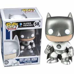 DC POP WHITE LANTERN BATMAN EXCLUSIVE