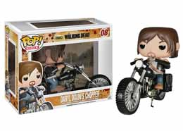 FIGURINE FUNKO POP THE WALKING DEAD DARYL DIXON ON CHOPPER