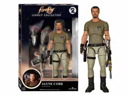 FIREFLY SERENITY LEGACY COLLECTION JAYNE COBB 15CM