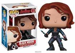 MARVEL POP AVENGERS AGE OF ULTRON BLACK WIDOW 9CM