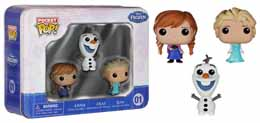 Photo du produit DISNEY POP FROZEN LA REINE DES NEIGE POCKET POP TIN 3- PACK