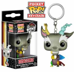 MY LITTLE PONY MON PETIT PONEY POCKET POP KEYCHAIN DISCORD 4CM