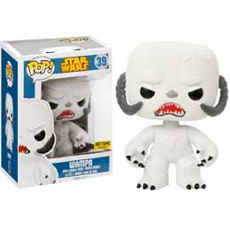 Photo du produit STAR WARS FUNKO POP WAMPA OVERSIZED FLOCKED EXCLU
