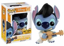 DISNEY POP LILO & STITCH FIGURINE STITCH ELVIS