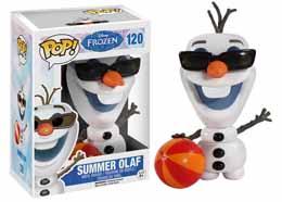 FUNKO POP LA REINE DES NEIGES SUMMER OLAF