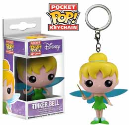 DISNEY VINYL POCKET POP KEYCHAIN CLOCHETTE