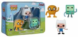 ADVENTURE TIME POCKET POP TIN 3- PACK FINN / JAKE / B-MO