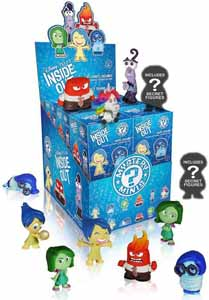 DISNEY MYSTERY MINIS INSIDE OUT VICE VERSA 12 FIGURINES