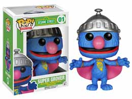 SESAME STREET POP SUPER GROVER