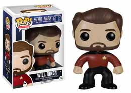 Photo du produit FUNKO POP STAR TREK NEXT GENERATION WILL RIKER