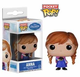 DISNEY POP FROZEN LA REINE DES NEIGE POCKET POP ANNA 4CM FUNKO