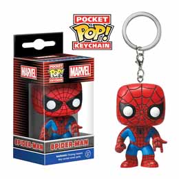MARVEL POP SPIDER-MAN POP KEYCHAIN