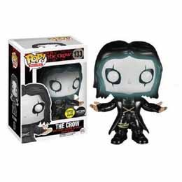 Photo du produit THE CROW POP FIGURE 9CM GLOW IN THE DARK EXCLU