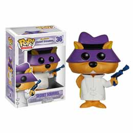 HANNA BARBERA POP SECRET SQUIRREL