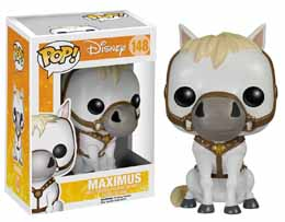 DISNEY POP RAYPONCE FIGURINE MAXIMUS