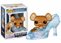 DISNEY FUNKO POP CENDRILLON GUS GUS IN SLIPPER