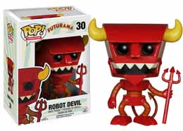 FUTURAMA POP ROBOT DEVIL 9CM
