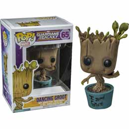 MARVEL POP GUARDIANS OF THE GALAXY BABY GROOT 9CM I AM GROOT VERSION EXCLUSIVE