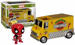 MARVEL POP RIDES DEADPOOL CHIMICHANGA TRUCK