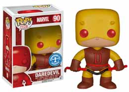 MARVEL POP DAREDEVIL YELLOW EXCLU UNDERGROUND TOYS 9CM