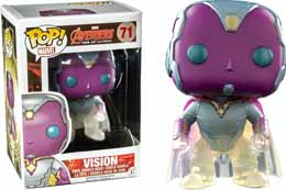 Photo du produit MARVEL POP AVENGERS AGE OF ULTRON VISION PHASING EXCLU