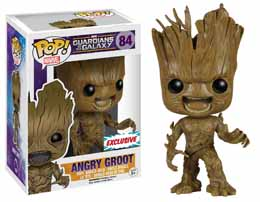 MARVEL POP GUARDIANS OF THE GALAXY ANGRY GROOT EXCLU