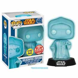 FIGURINE FUNKO POP STAR WARS HOLOGRAPHIC EMPEROR