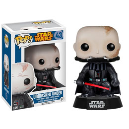 STAR WARS POP UNMASKERD DARTH VADER