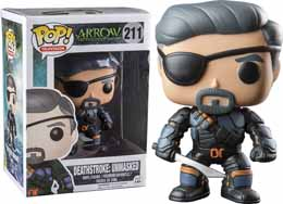 DC HEROES VINYL POP ARROW TV EXLCUSIVE DEATHSTROKE UNMASKED